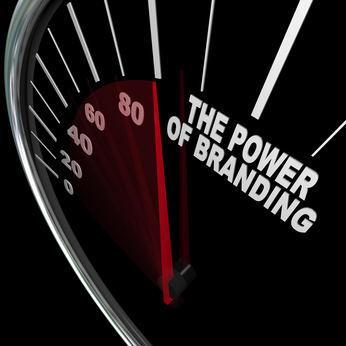 The Power of Branding Speedometer